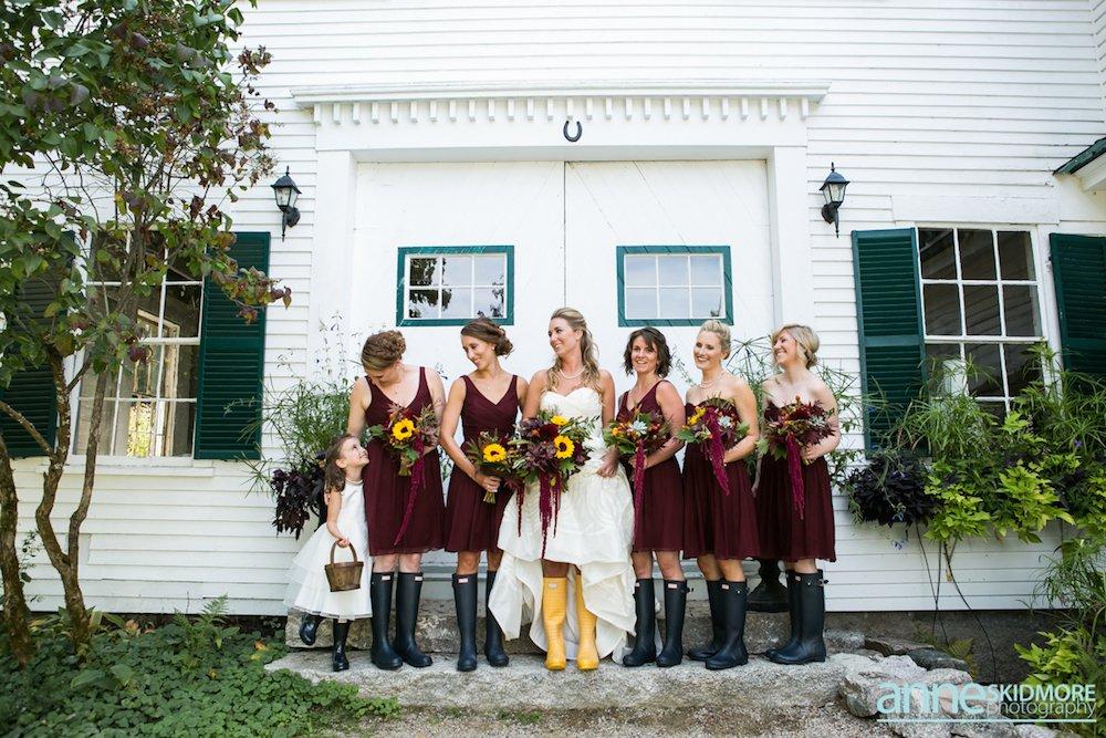 Ashley Amp Greg S September Wedding Maine Barn Wedding Venue