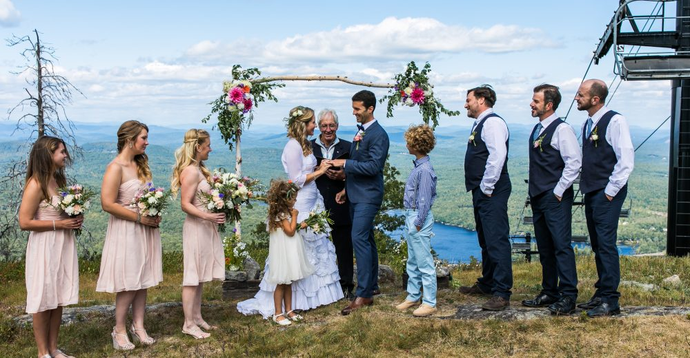 Shawnee Peak Mountaintop Wedding Venue