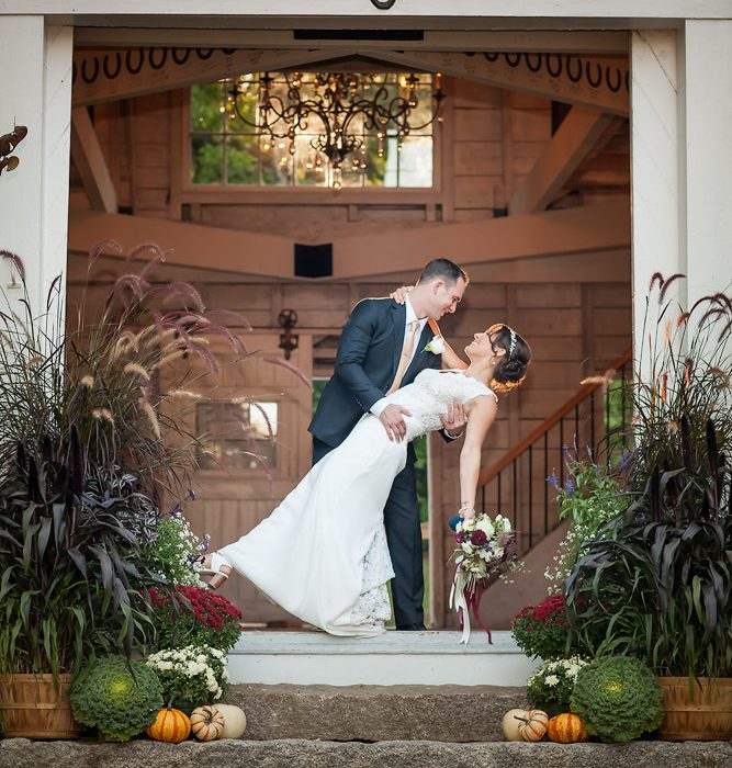 A Stunning Sunday Fall Maine Wedding