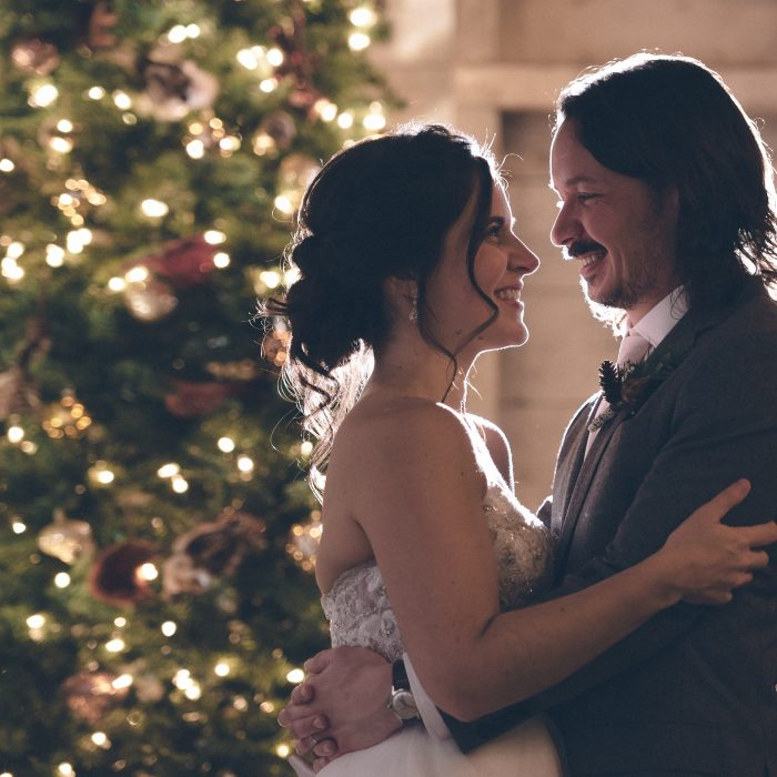 December Holiday Maine Weddings Feature