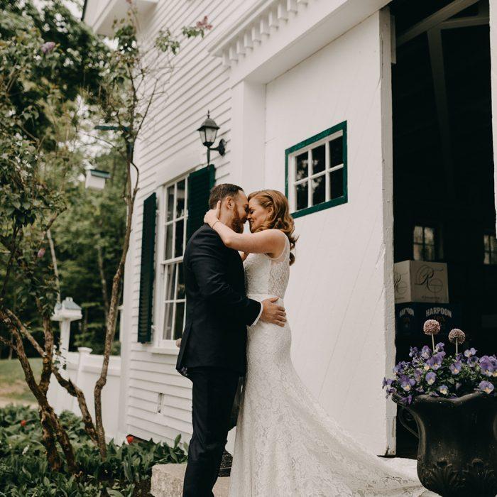 Real Maine Weddings 2017: Real Maine Weddings At Hardy Farm's Premier Barn Wedding Venue