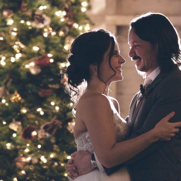 Kara & Jeff Holiday Wedding