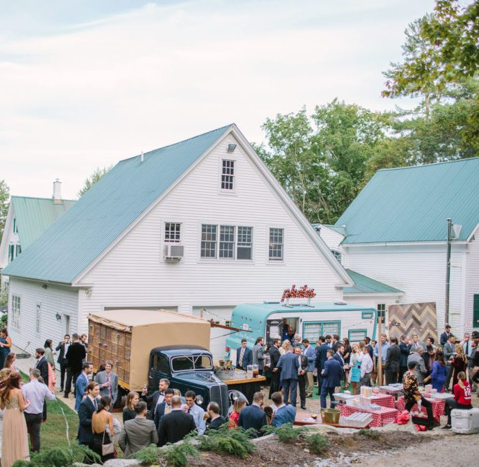 Brooke and Gordy's Beautiful Food Truck Wedding