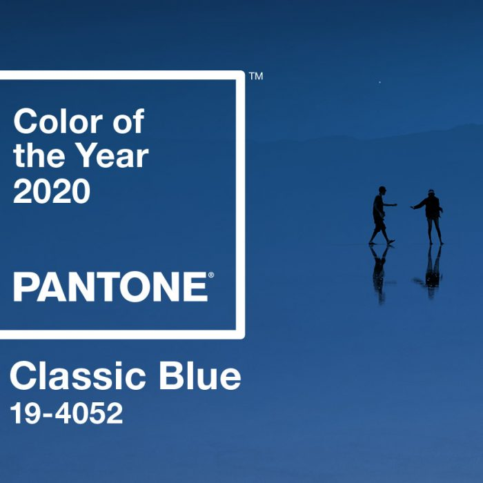 2020 Color of the Year: Classic Blue - PANTONE 19-4052